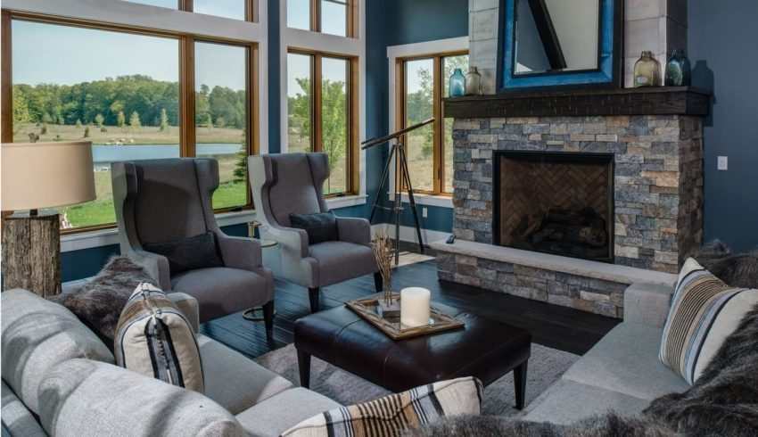 beautiful cottage interior at true north golf course