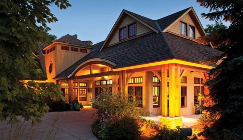 exterior of true north golf club